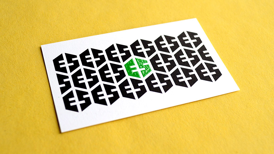 Ellen Sheng business card by Bright Spot Studio