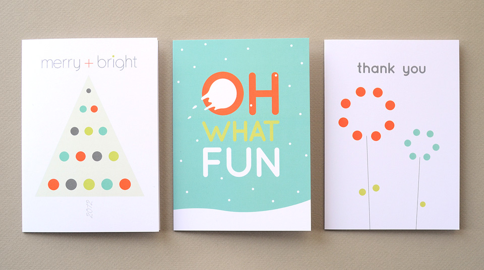 Bright Spot Studio greeting cards by Tippi Thole