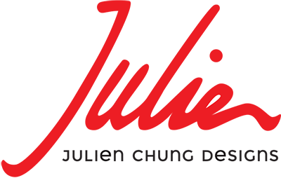 Julien Chung logo design by Bright Spot Studio