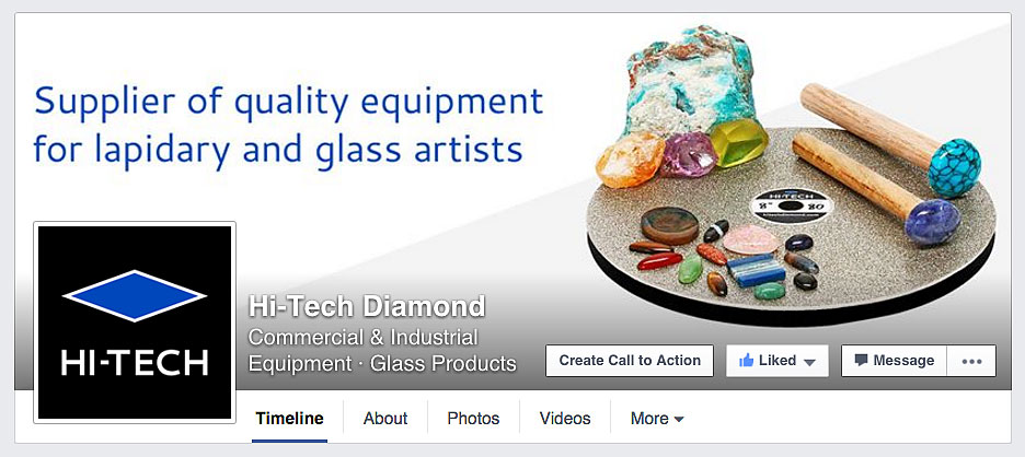 Hi-Tech Diamond Facebook page