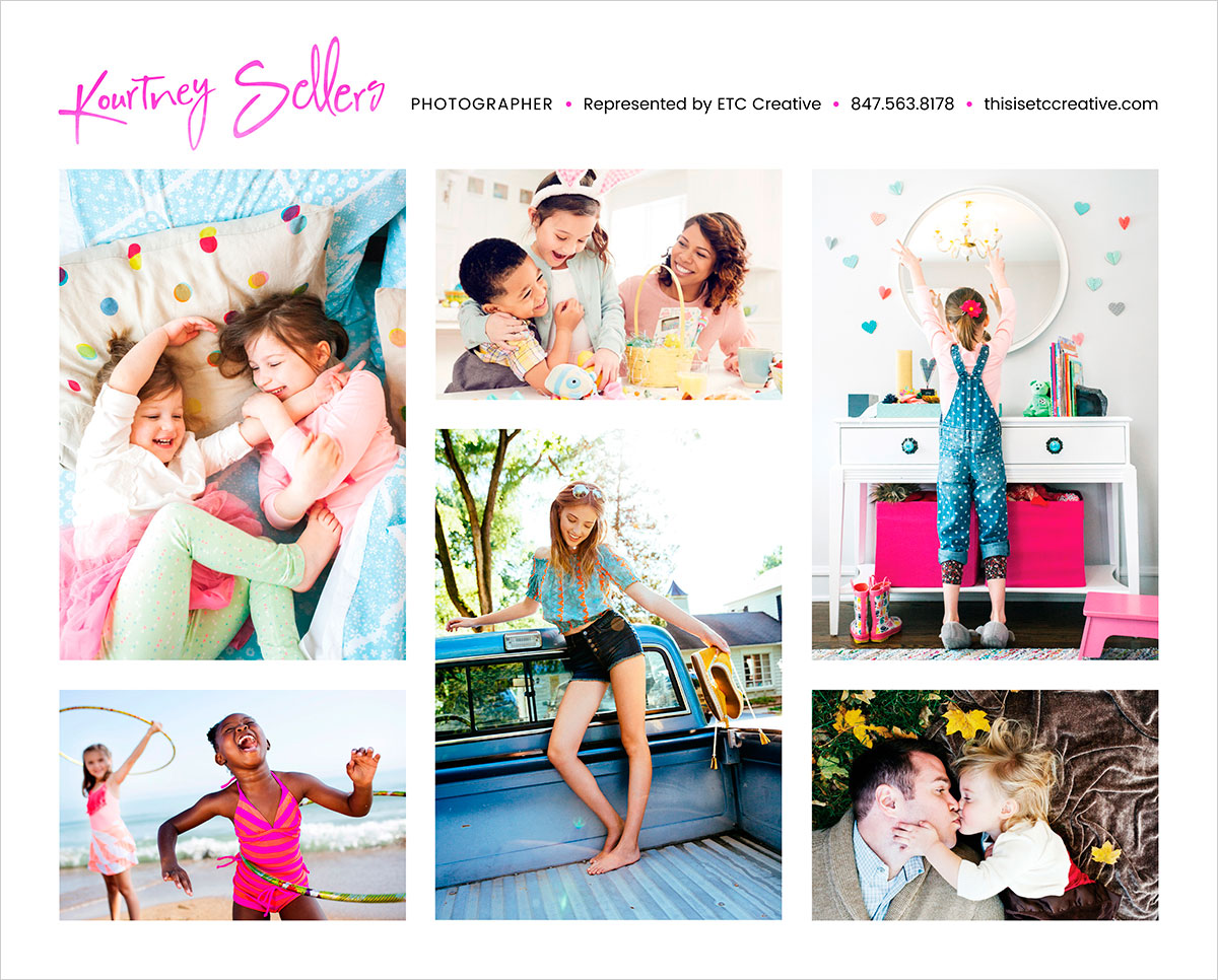 Kourtney Sellers photography marketing materials