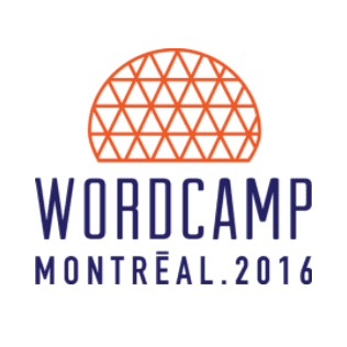 WordCamp Montreal 2016 logo
