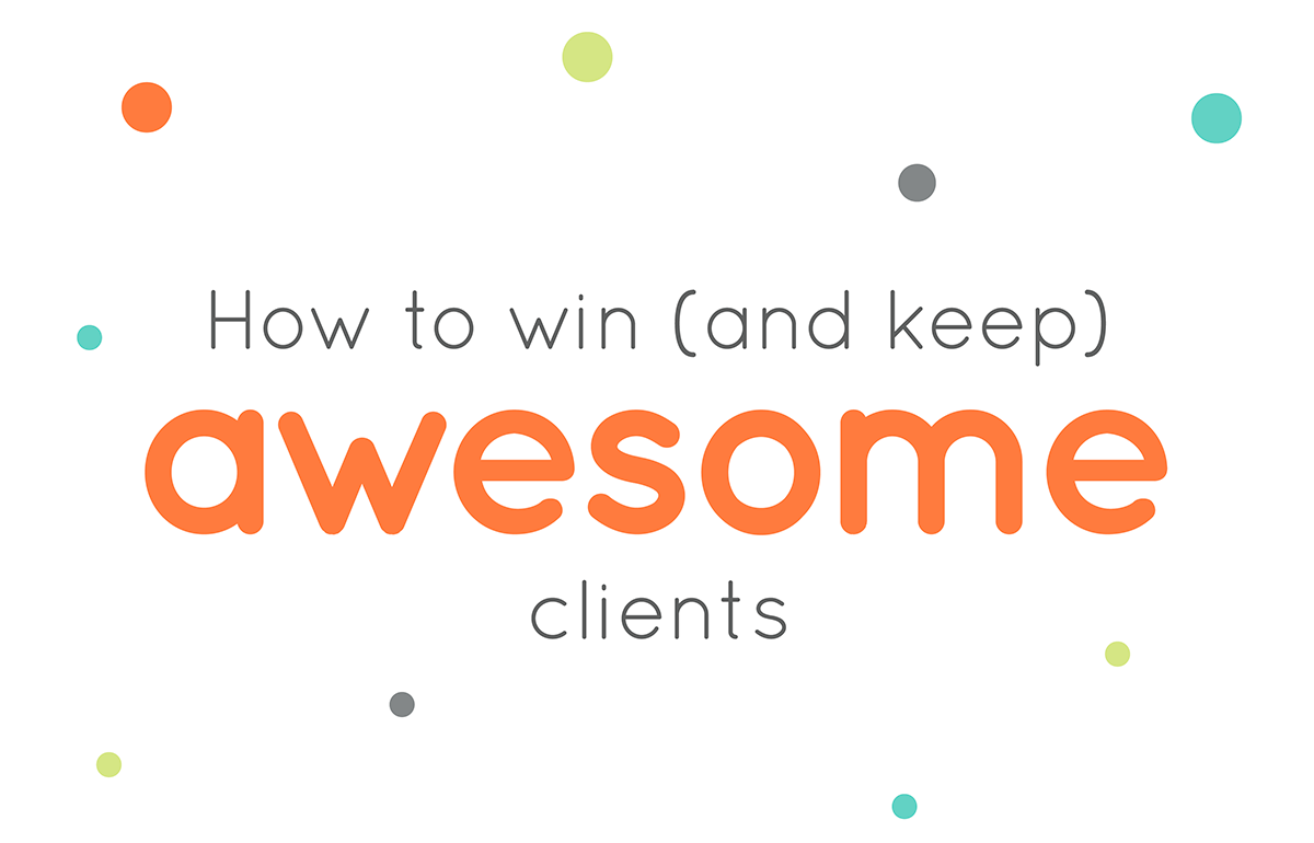 How to win keep awesome clients WordCamp Montreal speaker Tippi Thole