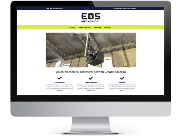 EOS Mechanical website